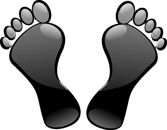 左右の足のサイズの違い