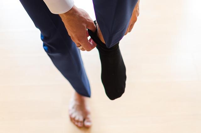靴の脱ぎ履きによる通気性